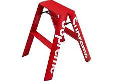 DS New Supreme Lucano Step Ladder Red Box Logo FW18 100% Authentic Decor Rare