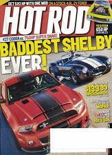 Hot Rod Magazine May 2011 Baddest Shelby Ever 427 Cobra vs 750 HP Super Snake