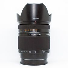 *MINT*Sony SAL 18-250mm f/3.5-6.3 DT Lens+UV FILTER