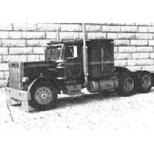 Bauplan Peterbilt 359 Conventional Modellbau
