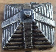 "5 Ozt MK BARZ  ""Pyramid #2"" .999 Fine Silver HAND POURED"