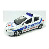 """Norev 319211 Peugeot 308 """"Police"""" weiss/blau - Emergency Maßstab 1:64 NEU!°"""