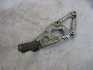 1. Kawasaki ZXR 750 H Stinger Foot Rest Support Rear Left With Holder