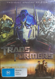 Transformers: The Movie (DVD, 2007) Aus Region 4 Special Edition Slipcover
