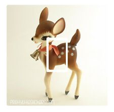 Stunning Vintage Deer/Fawn  Light Switch Sticker vinyl skin cover decal