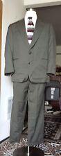 Custom Gray Suit Size 42R by Ermenegildo Zegna 100% Wool