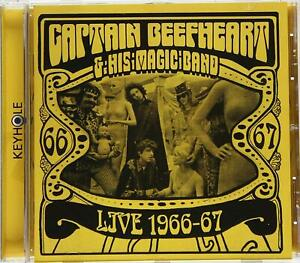 Captain Beefheart & His Magic Band ‎– Live 1966-67 (Psyche Rock) | CD (neuf)