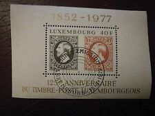 Luxembourg Luxemburg bloc No. 10 used 15/9/1977