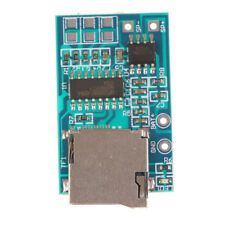 TF Card MP3 Decoder Board 2W Power Module  Mixed Mono Playback With Memory RS