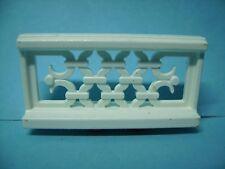 Playmobil sueño castillo 3019 pieza de repuesto, barandas blanco