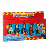 Fireman Sam Toy 5 Figure Play Set Articulated Figures Pack New Boxed