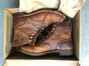 Red Wing 8085 Iron Ranger Copper D 41 - US 8 used almost new! boots shoes laars