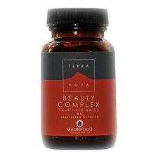 Terranova Belleza complejo-Skin, Hair & Nails 50 Capsulas