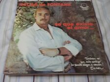 OSCAR DE FONTANA SE QUE EXISTE EL AMOR LP FREE U.S. SHIPPING LOOK