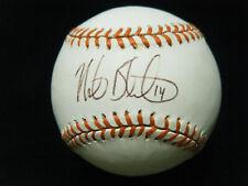 Vintage Mike Bordick Baltimore Orioles signed AL Ripken 8 baseball