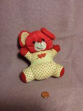 "New listing Vintage 6"" Laramie Valentine Red Mouse Hearts plush stuffed animal toy"