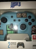 PowerA Enhanced Wireless Controller Nintendo Switch Super Mario 3  New Sealed