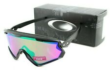 NEW OAKLEY WIND JACKET 2.0  Matte Black PRIZM Snow Jade Sunglasses OO7072 01