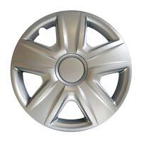 """Hyundai Tapacubos Kit 13 Pulgadas 4 Piezas Tapacubos Esprit Plata 13"""" Tapacubos"""