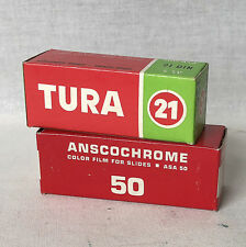 Lot of 2 Different 120 ( 6x9) Expires Films. New Old Stoks.