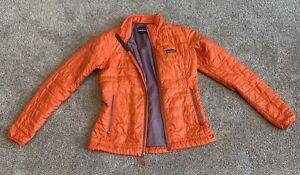 Orange Patagonia Puff Jacket