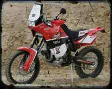 Gas Gas Fsr 515 Desert 1 A4 Metal Sign Motorbike Vintage Aged