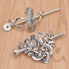 Celtic Knots Hairpin Charm Alloy Hair Stick Women Girl Hair Accessories Fashion
