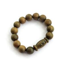 Sandalwood Buddha Word Sutra Inside Prayer Beads Tibet Buddhist Mala Bracelet