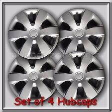 """Set of 4 16"""" Silver Toyota Camry Hubcaps 2006-2010 Replica Camry Wheel Covers"""