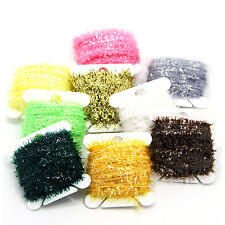 90M Ice Cactus Chenille Fly Tying Materials Assortment Fishing Flies Streamers