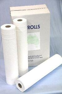 Paper Bed Sheet Roll Perforated 59cm x50M x 6 Rolls/carton