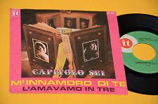 """CAPITOLO 6 M'INNAMORO DI TE 7"""" 45 PRIMA ST ORIG ITALY PROG 1971 EX"""