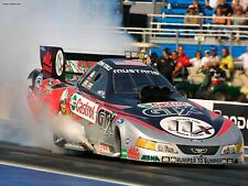 "John Force Pro Stock Ford Mustang Funny Car Poster 8""x10"" Photo"