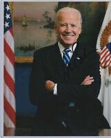 President Joe Biden AUTHENTIC AUTOGRAPH 8x10 w/ *COA* CERTIFIED HAND SIGNED