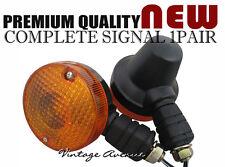 SUZUKI TS50 TS80 TS100 TS125 DR125S REAR TURN SIGNAL LIGHT PAIR 6V/12V [TW17]