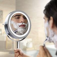 Kosmetikspiegel LED Beleuchtet Schminkspiegel 5-Fach Vergrößerung Spiegel Mirror