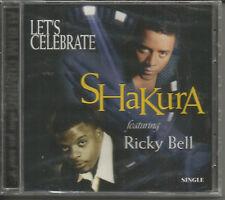 SHAKURA / RICKY BELL Let's Celebrate EDIT& ACAPELA CD Bell Biv Devoe NEW EDITION