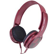 Philips O'Neill Cruz Headband Headphones w/3.5mm Jack (Burgundy) *