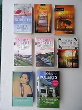 10 Nora Roberts Bücher / Büchersammlung, Zustand siehe Fotos