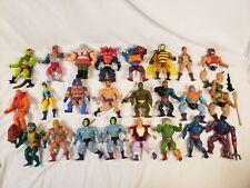 Vintage Mattel He-Man Masters of the Universe MOTU - Action Figure Lot of 24
