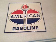 AMERICAN GAS TORCH LOGO NOS 50'S PUMP DECAL WAYNE GILBARCO ERIE BENNETT FRY