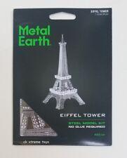 Fascinations Metal Earth Eiffel Tower Paris Building Steel 3D Model Kits MMS016