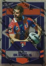 2012 NRL DYNASTY SILVER FOIL PARALLEL KNIGHTS SP90 DANNY BUDERUS CARD FREE POST