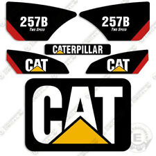 Caterpillar 257B Decal Kit Equipment Decals
