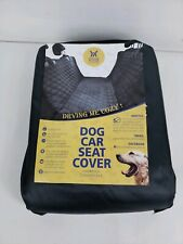 Winner Outfitters Dog Car Seat Cover Pet For Cars Waterproof Black New