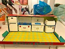 Marx LIL-MISS KITCHEN Tin Toy 4 Set Vintage 1960s Rare COLLECTIBLE