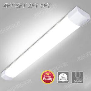 4FT 3FT 2FT 1FT LED BATTEN LINEAR TUBE LIGHT SURFACE MOUNT CEILING LIGHTS SLIM