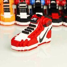 Brand New Chicago Air Jordan 1 Sneakers Lego Building Blocks Bricks