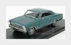 Chevrolet Nova Ss Hard-Top Closed 1966 Green Met NEOSCALE 1:43 NEO47235 Model
