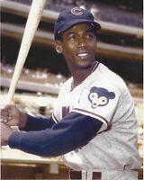 8x10 photo baseball, Ernie Banks Chicago Cubs  image circa 1968